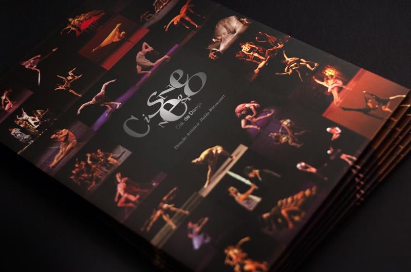 Elo Criativo - Cisne Negro Cia. de Dança - Design Gráfico