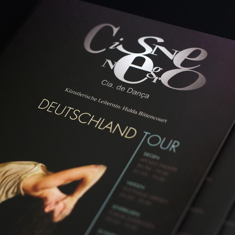 Elo Design Gráfico Cisne Negro Cia. de Dança