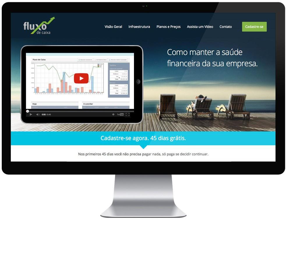 Elo Criativo - Fluxo de Caixa - Web Design