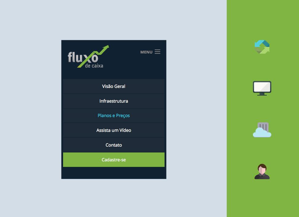 Elo Criativo - Fluxo de Caixa - Design Responsivo
