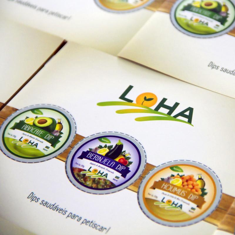 Elo Design Branding Loha Dips