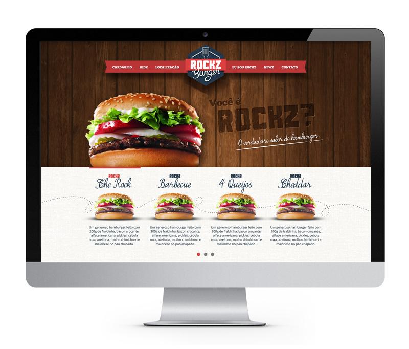 Elo Criativo - Rockz Burger - Branding