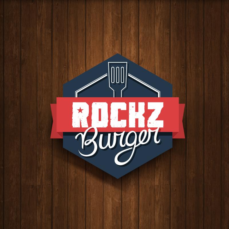 Elo Design Branding Rockz Burger